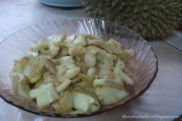 Putik Durian Goreng