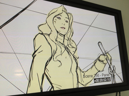 Leaked Legend of Korra Book 3 Image features Asami Sato in this storyboard panel for LOK Season 3.