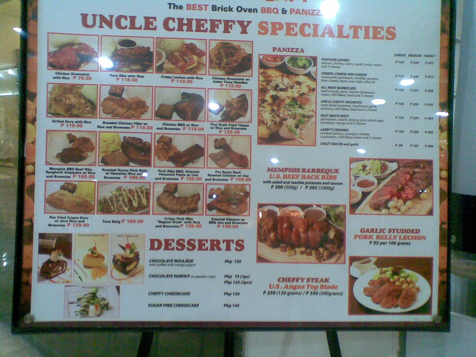 Luckyfinds: Rendezvous at Uncle Cheffy