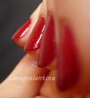 China Glaze Ruby Pumps, opiniones swatch review