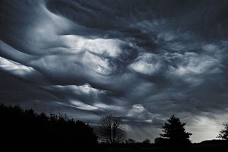 Beeindruckende Fotogalerie Asperatus-Wolken (aperatus clouds) Ohio und Pennsylvania Oktober 2011, Fotos Fotogalerie, USA, Wolken, Oktober, 2011, Pennsylavania,