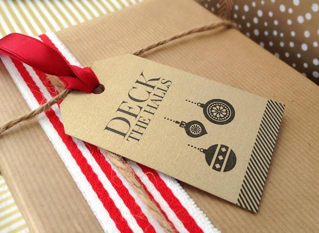 designer gift tag
