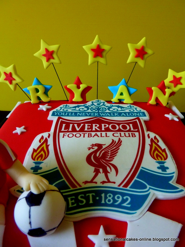 Cake Inspiration Liverpool Football Club 3D Birthday cake for Ryan