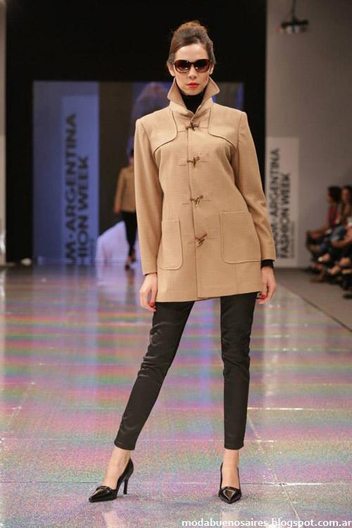 Adriana Costantini otoño invierno 2014 abrigos de moda invierno 2014.