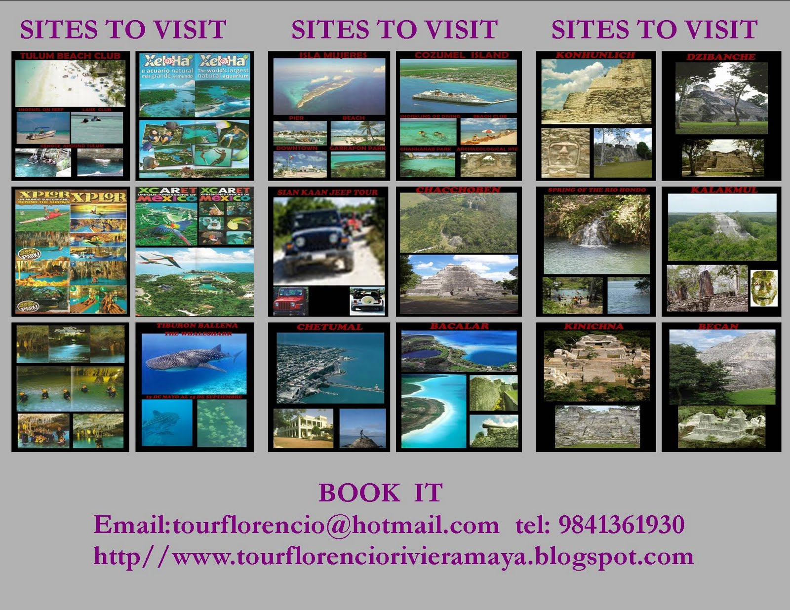 SITES TO VISIT