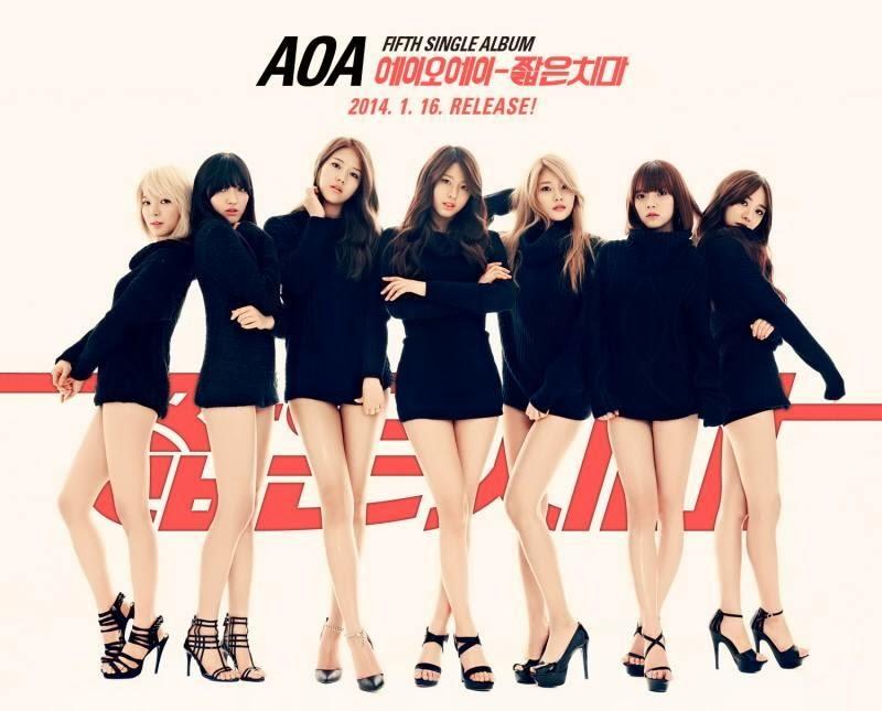 AoA Miniskirt 5th single album