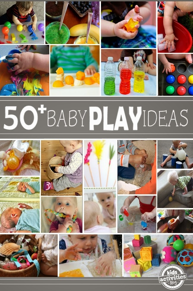 50+ Ways for Babies to Play