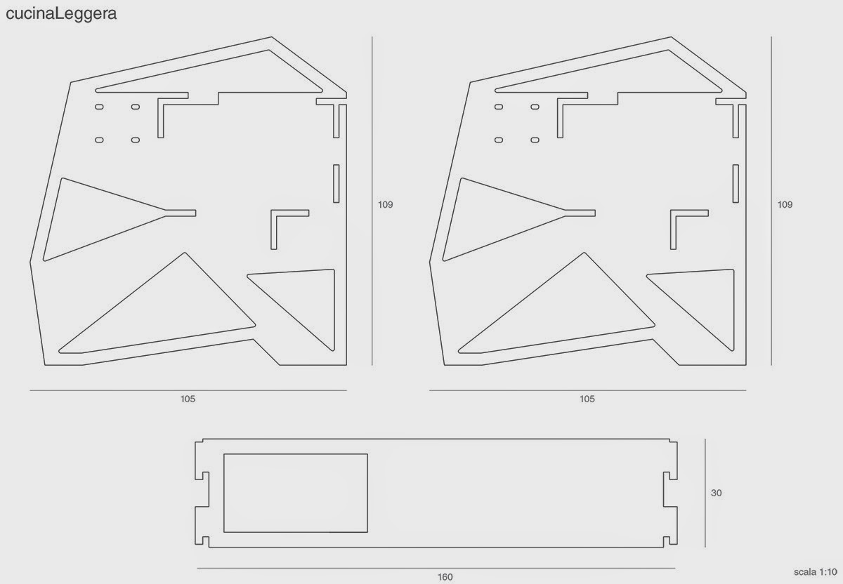 El plan z arquitectura cocina de km0design for Plan de arquitectura
