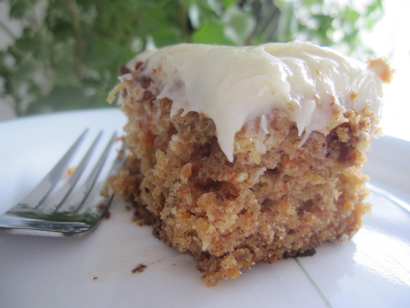 Mennonite Girls Can Cook: Pineapple Carrot Cake - Gluten Free