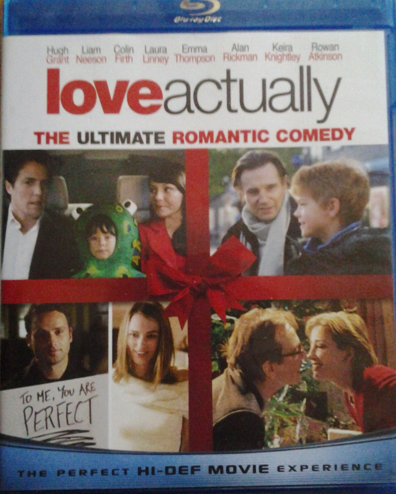 DVD Cover - Love Actually