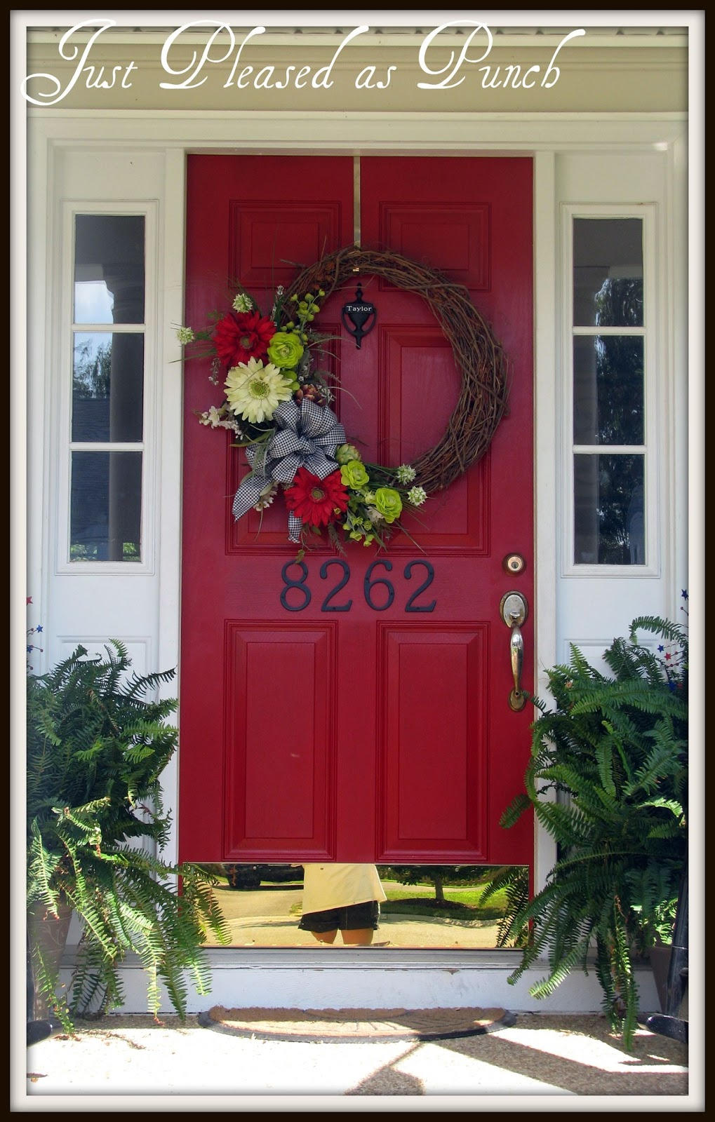 Red Front Doors Fair With Red Front Door Colors Pictures