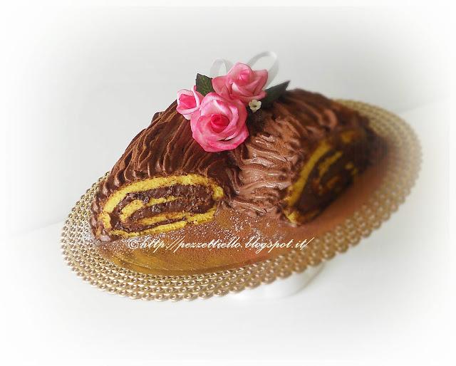 tronchetto al cioccolato