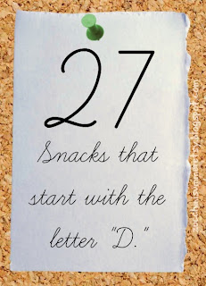letter d snacks, letter of the week, bulletin board, preschool lesson plan, kid snack ideas, eating the alphabet