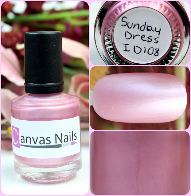 Canvas Nails Sunday Dress Nail Polish