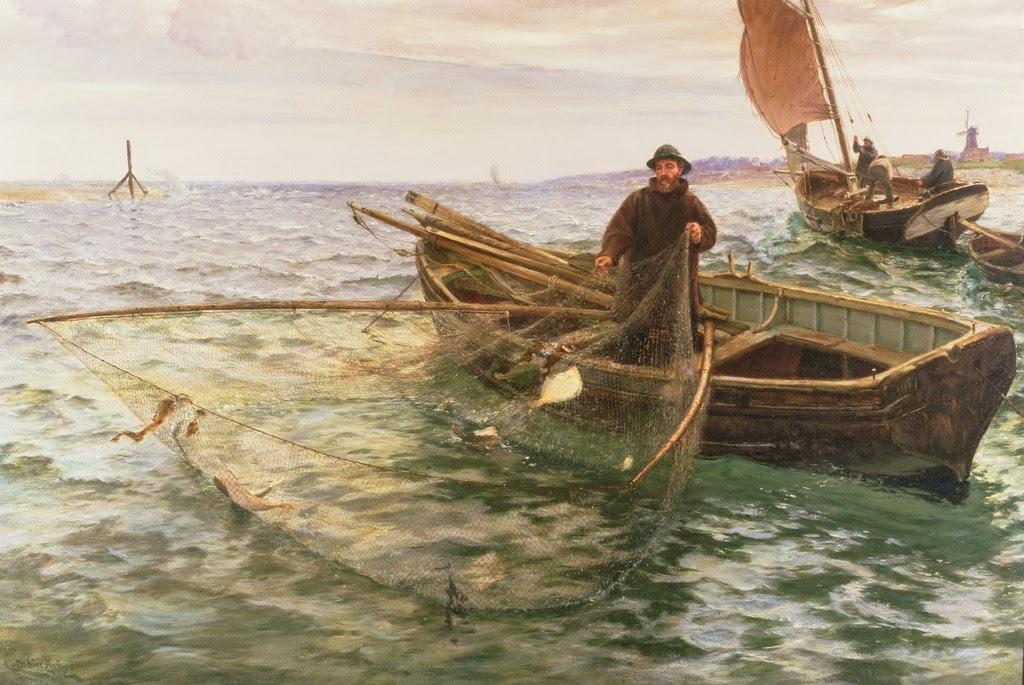 Omaž ribolovcu i ribolovu - Page 6 Charles+Napier+Hemy+-+The+Fisherman