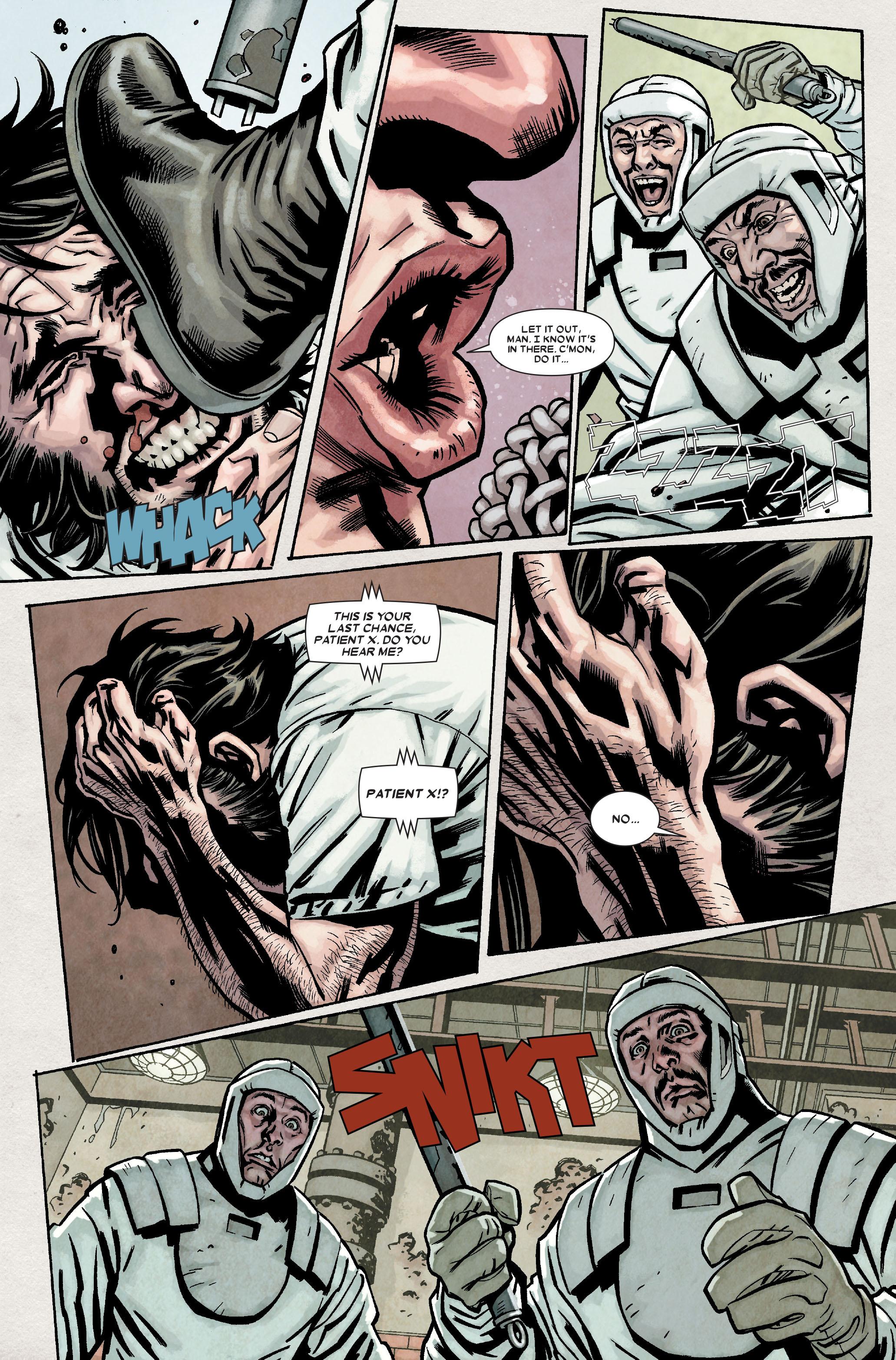 Wolverine: Weapon X #7 #10 - English 22