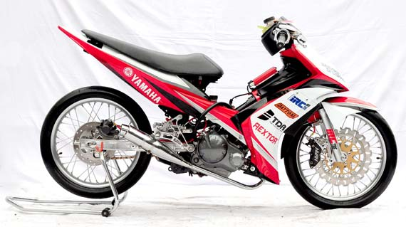contoh modifikasi yamaha jupiter mx title=
