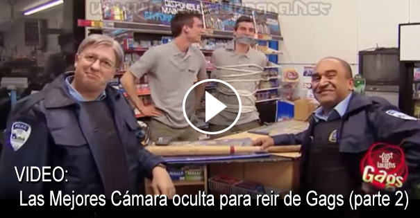 VIDEO - Los Mejores cámara oculta para reir de Gags (parte 2)
