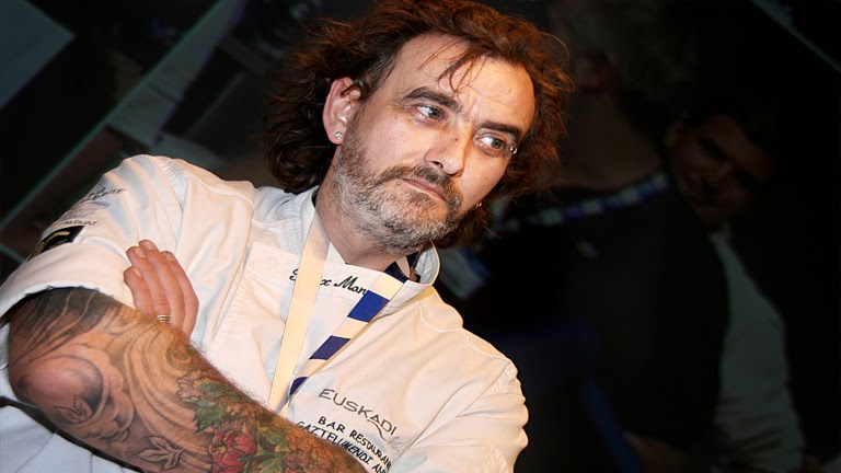El cocinero Félix Manso