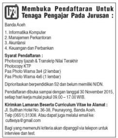 LP3I Banda Aceh