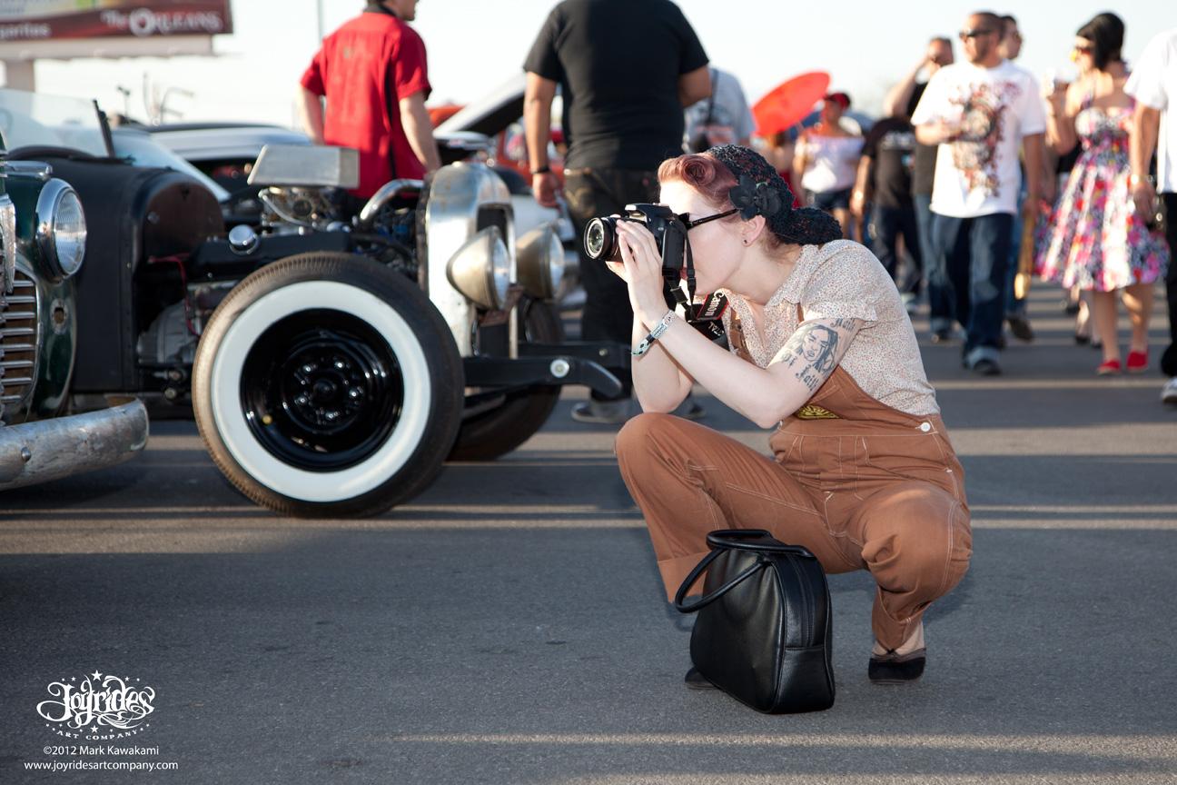 JOYRIDES ART CO Viva Las Vegas - Viva las vegas car show