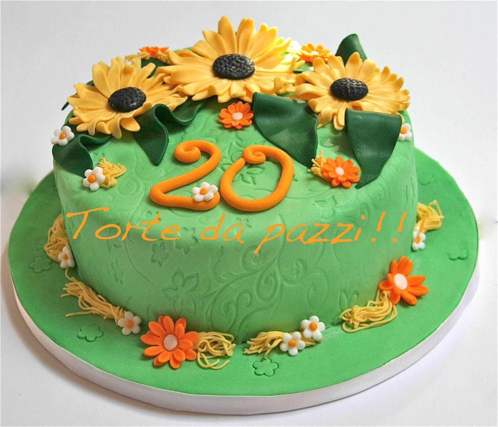 Torte Matrimonio Girasoli : Torte da pazzi girasoli