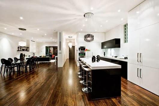 Ruang Makan dan Dapur Minimalis