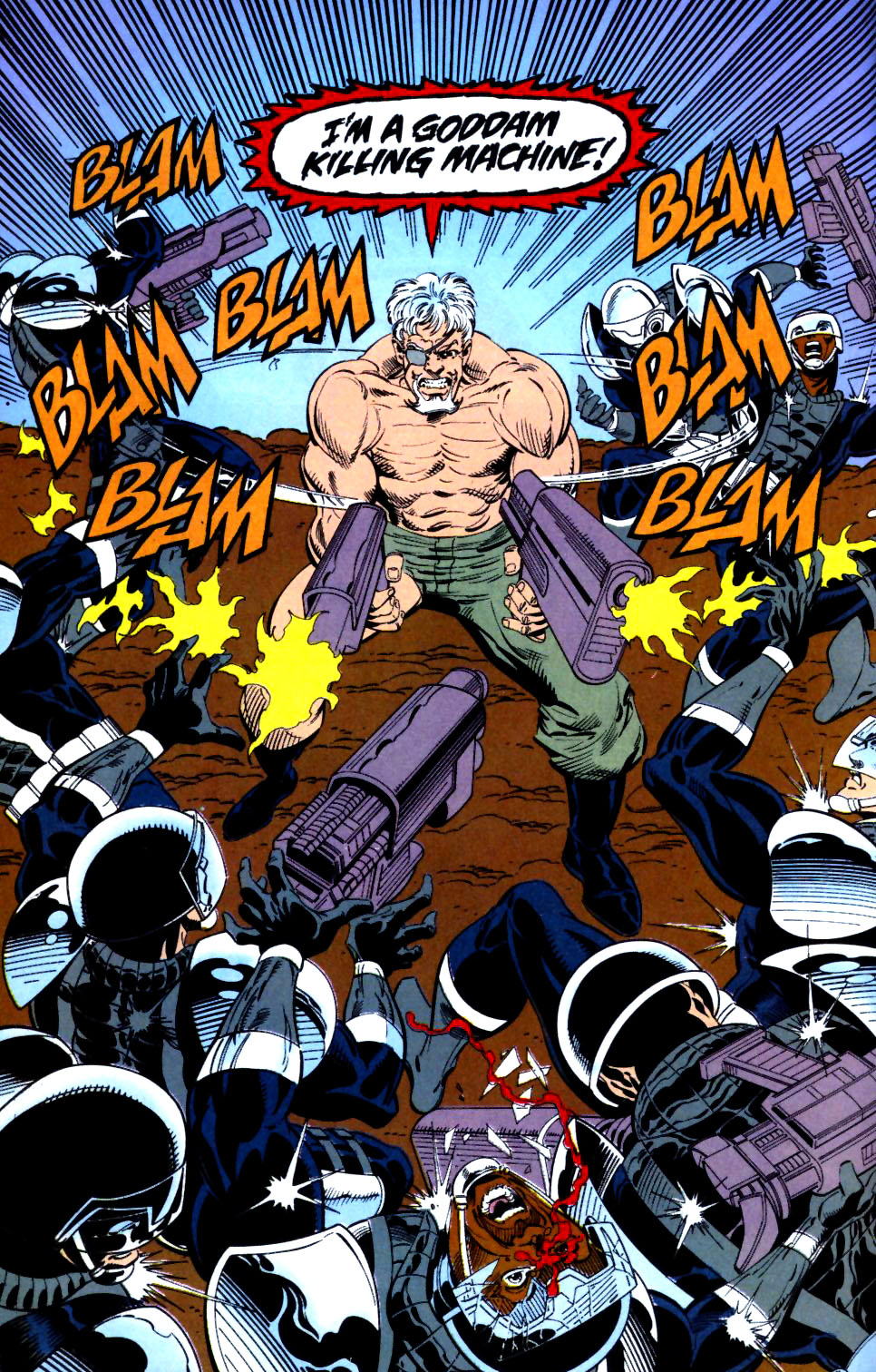 Deathstroke (1991) Issue #16 #21 - English 22