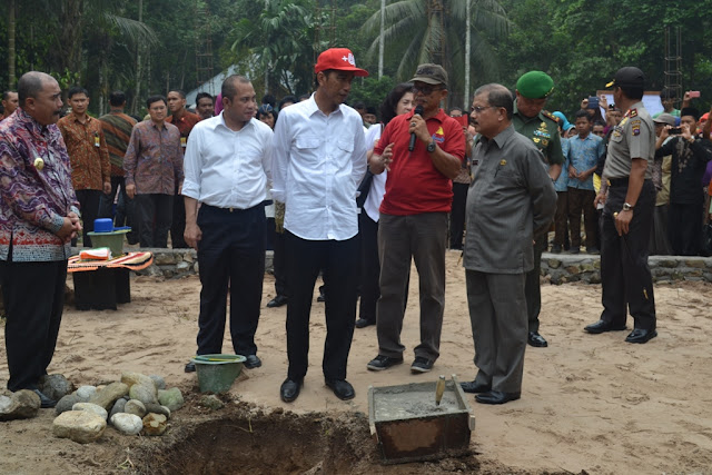 Laporan Khusus: Kunjungan Presiden Jokowi ke Sumbar Langsung Sambangi Nagari Parit Malintang