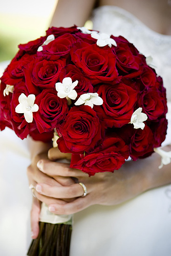 romantic flowers wedding flowers red roses. Black Bedroom Furniture Sets. Home Design Ideas
