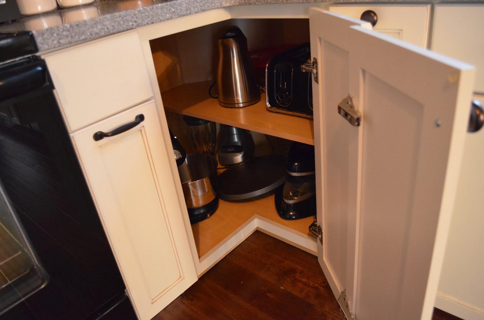 Huge corner cabinet