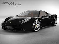 Ferrari 458 Italia noire