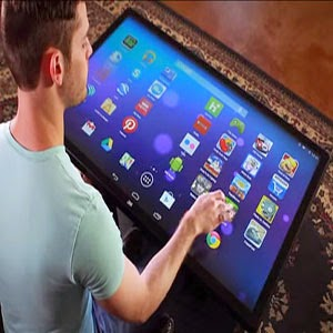 Platform Multitouch Coffee Table PC Tablet sentuh