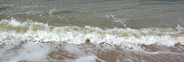 Toe tickling surf