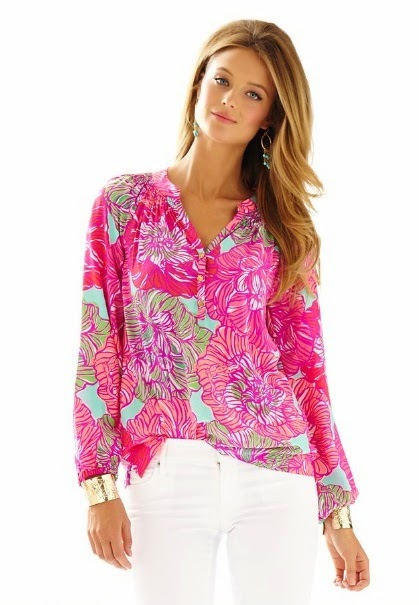 lilly pulitzer elsa top in worth it