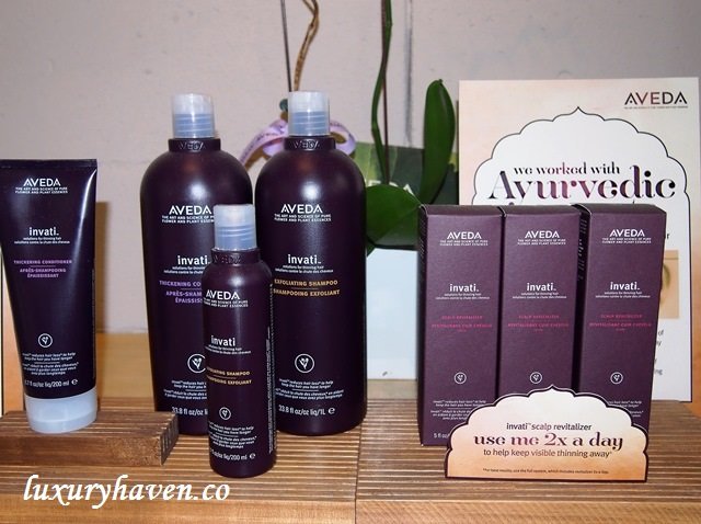 aveda invati products, hair story singapore