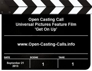 Get On Up Mississippi Open Casting Call