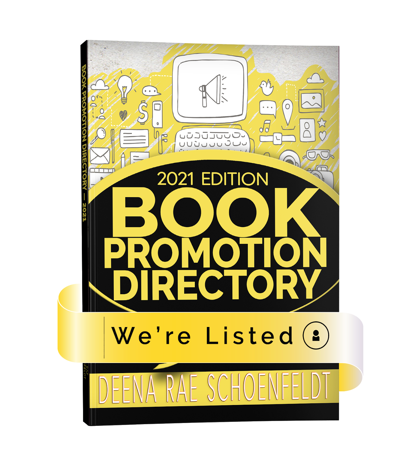 We're Listed - 2021 Book Promotion Directory
