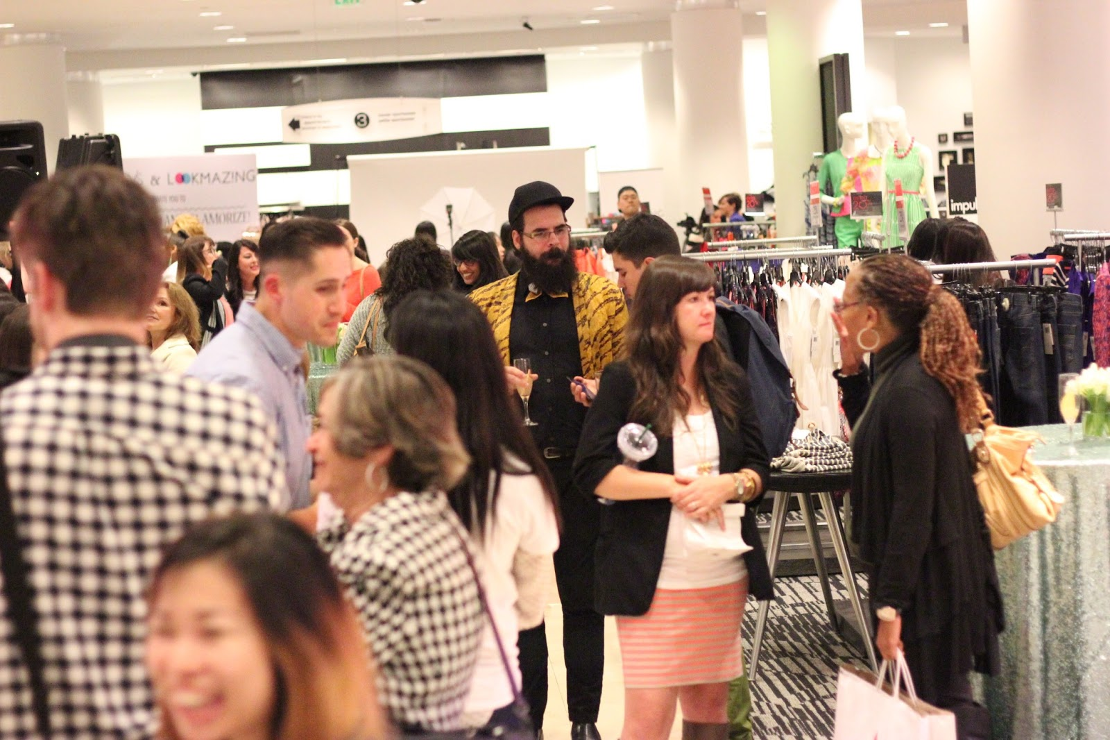 Macy's and Lookmazing Event