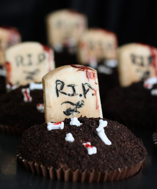 Mad med hjertet - Linebinevaskemaskine - Graveyard Cupcakes