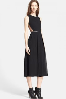 Burberry London 'Lisbeth' Silk Fit & Flare Dress