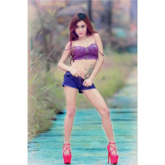 Image Result For Dewi Purnama Sari Photoshoot Lingerie Terbaru