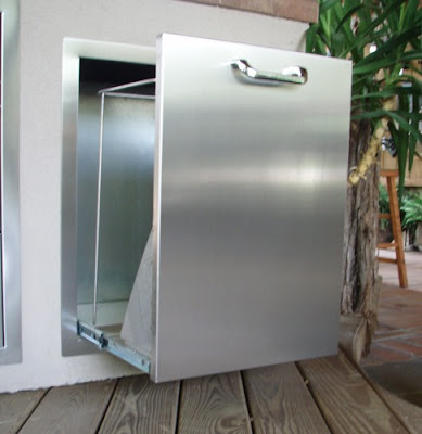 Stainless Steel Pull Out Door