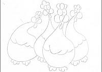 """""""risco  de galinhas porongas"""""""
