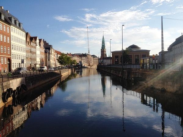 Копенгаген Дания каналы прогулка