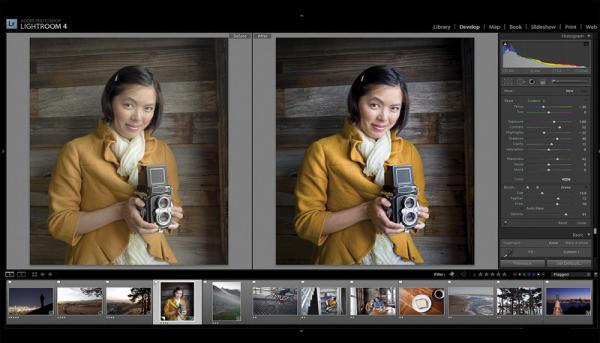 Adobe Photoshop Lightroom use