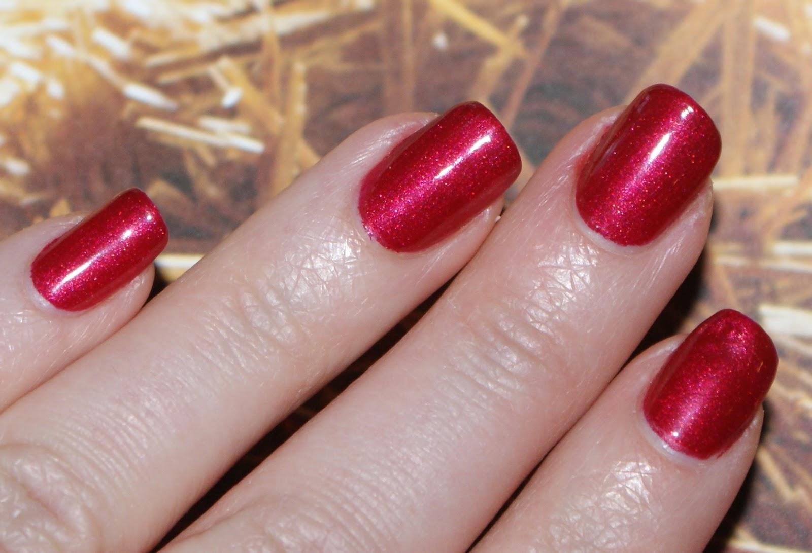 Babbling Brooke: CND Shellac Manicure at Biago Salon