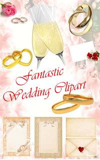 Clip Art of Wedding