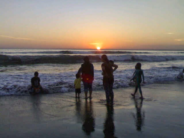 Pantai Barat Pangandaran-Jawa Barat