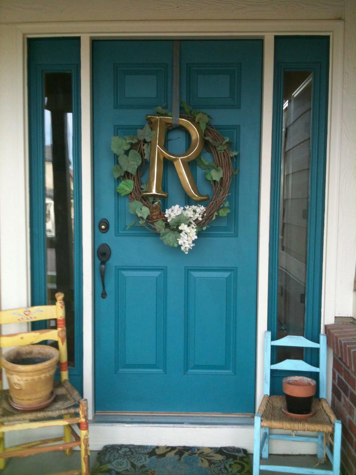 Husker dream homes express yourself for Teal front door
